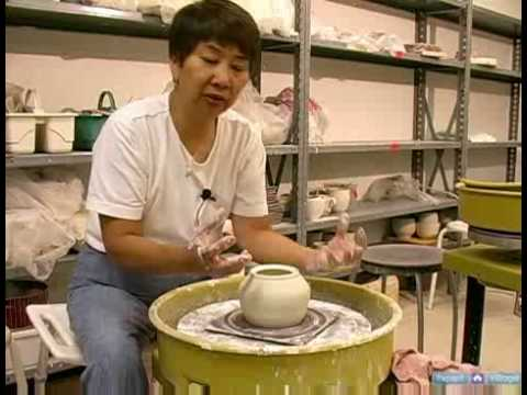 Ceramics: How to Make Double-Walled Pottery Vessels : How to Measure for a Ceramic Teapot Lid