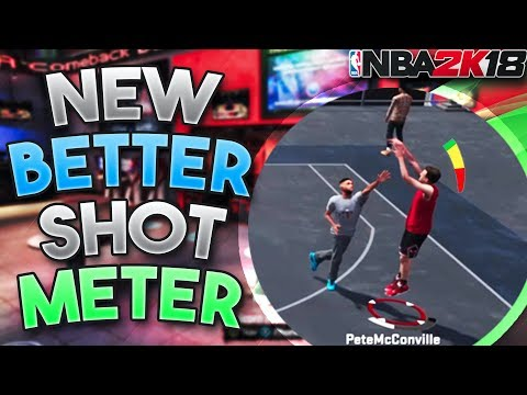 YOU WILL NEVER USE YOUR REGULAR SHOT METER AFTER WATCHING THIS!! New Shot Meter in NBA 2K18!