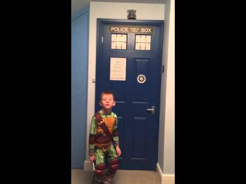 Dr Who Tardis Bedroom Door