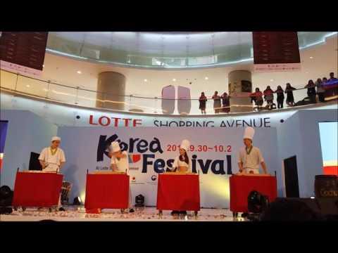 [HALLYU VLOG] Nanta Show at Korea Festival 2016