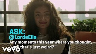 Lorde - ASK:REPLY 1 (VEVO LIFT)