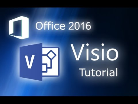 Microsoft Visio 2016 - Tutorial for Beginners [+General Overview]*