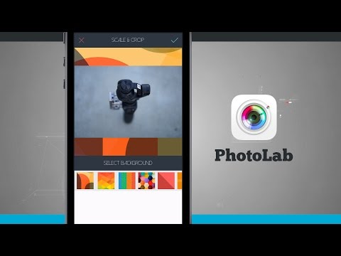 PhotoLab iPhone App Demo