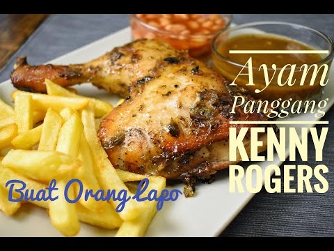 Ayam Panggang ala Kenny Rogers Roasters | Roasted Chicken Kenny Rogers style