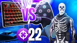 Playing on Fortnite PC Servers With a CONTROLLER! (Fortnite Battle Royale Moments)