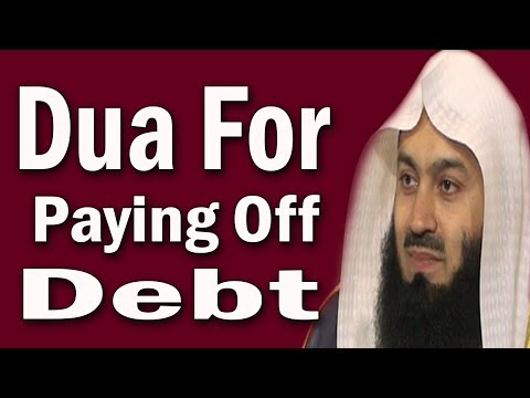 Dua To Get Rid of Debt / Loan | Mufti Menk [Very Important]