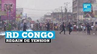 Regain de tension en RD Congo