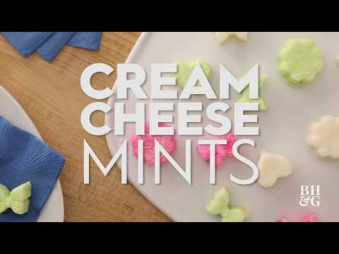 Cream Cheese Mints | Red Plaid | Better Homes & Gardens