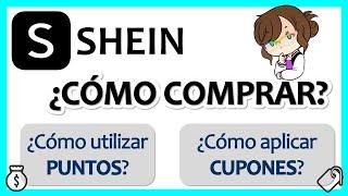 SHEIN 👗 || ¿Cómo COMPRAR en SHEIN usando CÓDIGO DE DESCUENTO y PUNTOS?