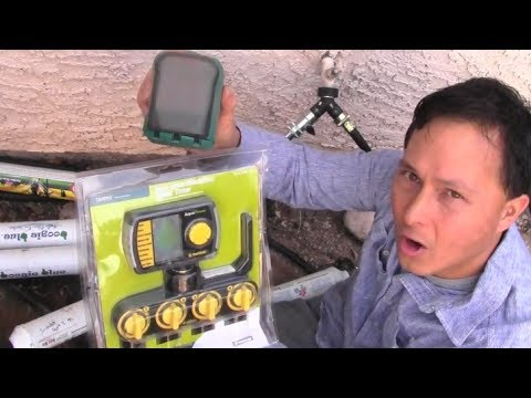 How to Install a 4 Zone Water Timer to Automatically Water your Garden