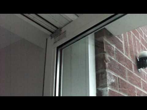 Completed Work On Commercial Aluminium Door