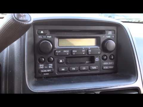 Radio reset code in 5 minutes for a 2001+ Honda CRV CR-V Accord Civic Pilot Element Odyssey Insight