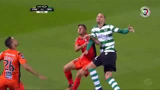 Polémica: Há grande penalidade sobre Bas Dost? (Portimonense - Sporting)