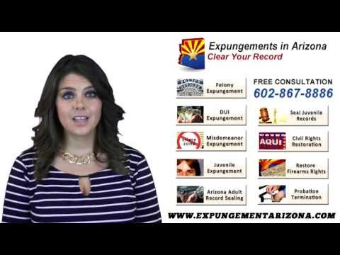What is the Benefit of Hiring an Attorney? -  Expungements in Arizona