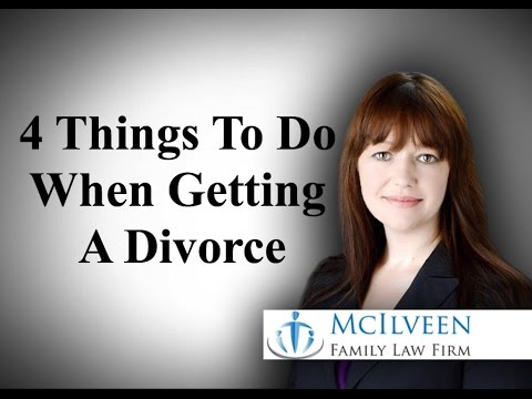 Four Things To Do When Getting A Divorce in North Carolina - Divorce Attorney Charlotte NC
