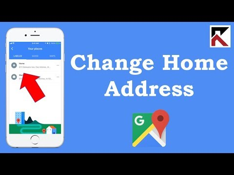 How To Change Your Home Address Google Maps iPhone