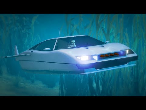GTA 5 ONLINE NEW STROMBURG SUBMERSIBLE CAR DLC GAMEPLAY & CUSTOMIZATION! (GTA 5 DLC)