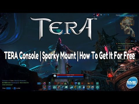 TERA Console | Sparky Mount | How To Get Your Free Mount