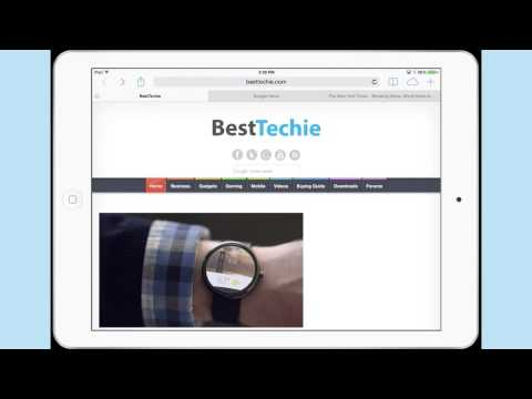 How to Set Up Bookmarks on the iPad Air : iPad & Tech Tips