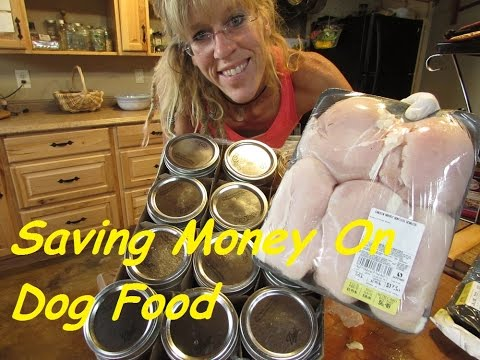 Debt Free Slave Free Advice:Make Your Own Dog Food SAVE!!!!!
