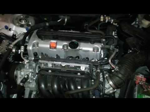 2009 Honda Accord 2.4L I4 Engine Idling After Spark Plug Change - K24Z2 Motor