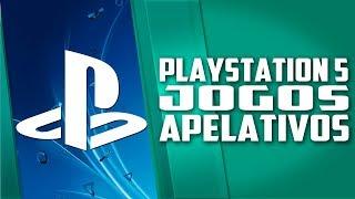 Sony irá REVELAR jogos APELATIVOS de PLAYSTATION 5 e Nintendo CONTRA pirataria