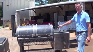 24 X 48 Inch Offset Pipe Smoker By Lone Star Grillz,PUSFP