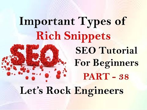 Rich Snippet in SEO Tutorial for Beginners (Hindi) - PART - 38