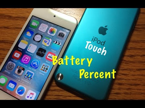 Enable iPod Battery Percent iOS 9 NO JAILBREAK