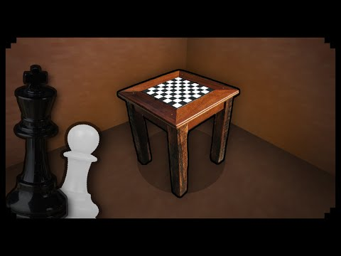 ✔ Minecraft: How to make a Chess Table