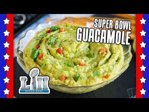 The BEST Guacamole Recipe - EASY Super Bowl Recipes by Warren Nash