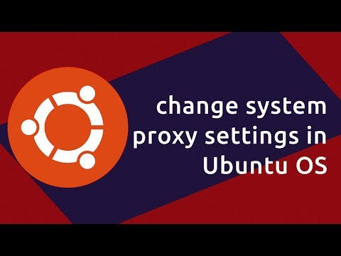 proxy settings in Ubuntu OS techabettor tutorials