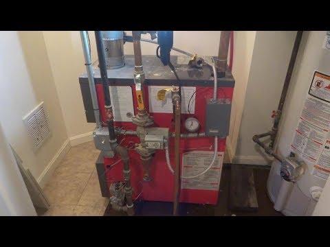 gas boiler no heat second floor