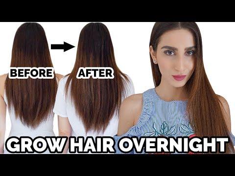 Grow Your Hair Overnight | DIY Hair Growth Oil
