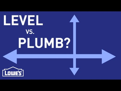 What Do Level and Plumb Mean?   DIY Basics