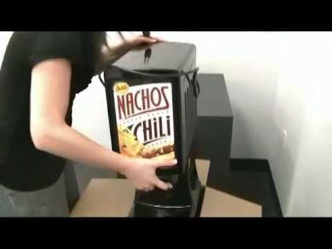 Gehl's HOT TOP2 Dual Nacho Cheese Dispenser Demonstration