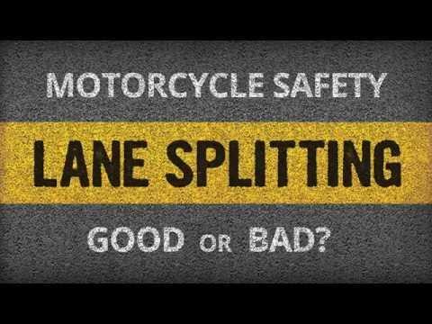 Motorcycle Lane Splitting in Washington State