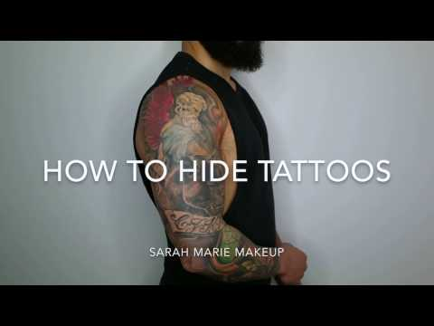 How to cover tattoos. Best product for tattoo coverage