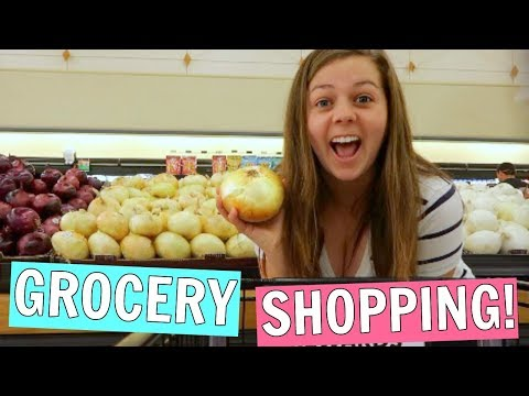 Grocery Shop With Me For Healthy Lunches!