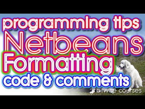 How to enable or disable comment formatting in Netbeans