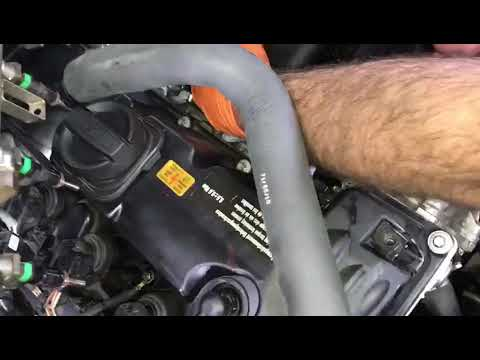 BMW N51/N52 Vent Hose Replacement (after valve cover gasket replacement)