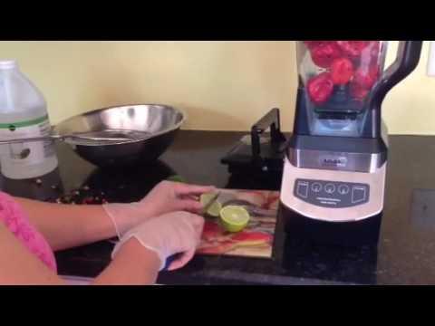 Trinidad pepper sauce simple method