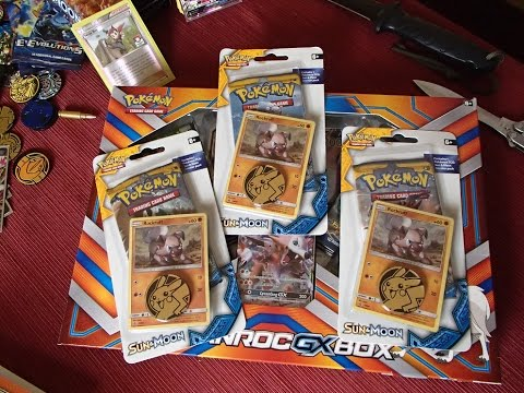 Pokemon Sun and Moon Lycanroc and Rockruff Opening! Pokemon Cards!