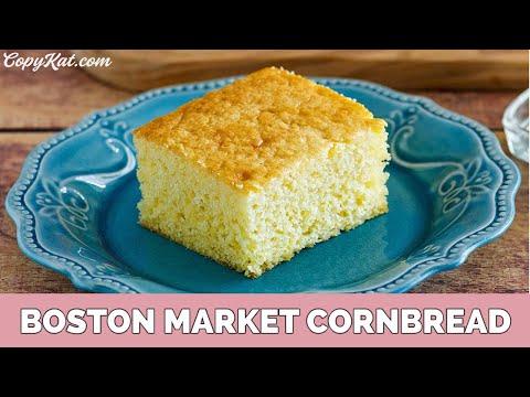 How to Make Copycat Boston Market Corn Bread