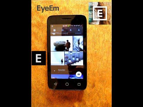 Como vender tus fotos! App Eye Em Android.