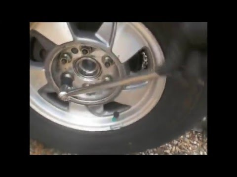 2wd Emergency Brake Repair  2 21 16