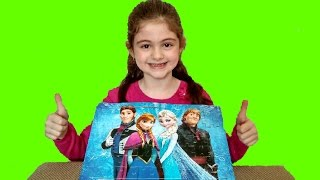 Frozen Elsa Puzzle Game by Sara :)