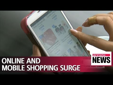 Xxx Mp4 Transactions Of Online Mobile Shopping Reaches US 9 Bil In Oct 3gp Sex