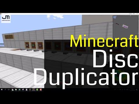 Minecraft Disc Duplicator
