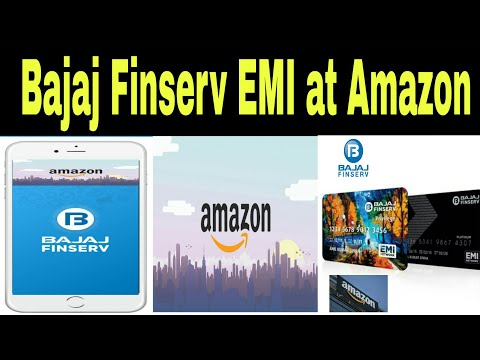 How to buy products through Bajaj Finserv EMI Card at Amazon on NO COST EMI